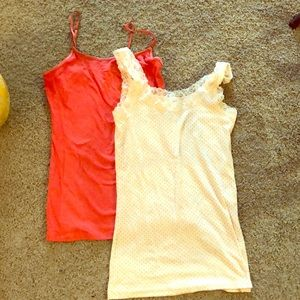 Tops - Two pack of summer tanks!